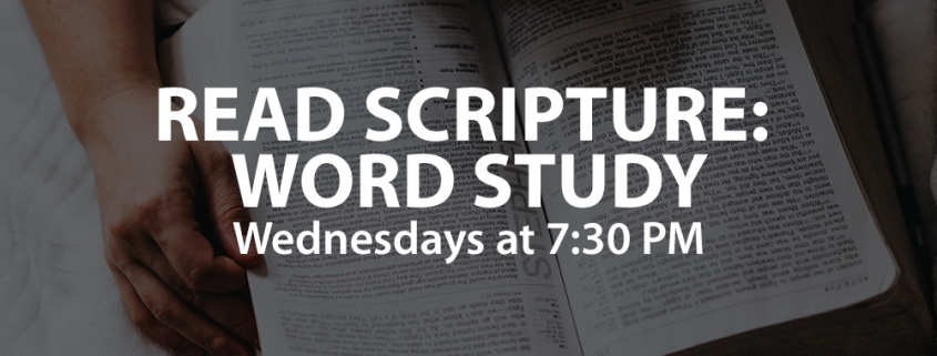 Read Scripture: Word Study - North Cities