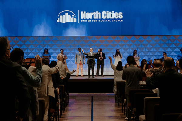 Sunday service at North Cities in Garland, TX